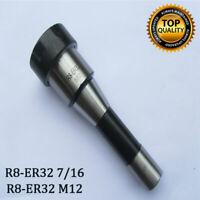 R8-ER32 7/16 M12 COLLET HOLDER. COLLET CHUCKS FOR MILLS. NEU
