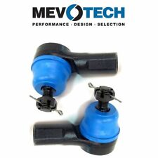 For Honda CR-V Acura EL Pair Set of 2 Front Outer Tie Rod Ends Mevotech MES3581