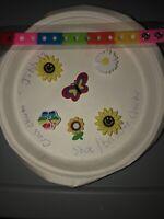 Flowers & Butterfly Lot Of 6 +Bracelet, Crocs Shoe,Lace Adapter Charms,Jibbitz