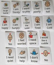 Learning Fun Resources Feelings and Wants Flash Cards - communication, Autism, S