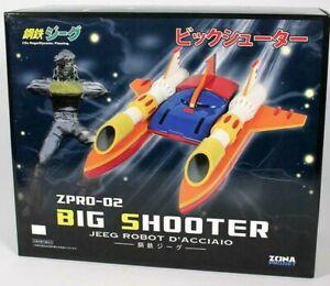 ZPRO-02 BIG SHOOTER + Hiroshi Miniature for Kotetsu Steel Jeeg Robot D'acciaio