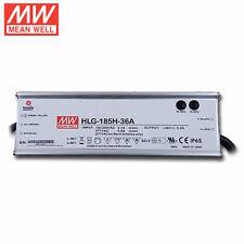 New Meanwell HLG-185H-36A 36V 185W LED Driver for High bay flood light