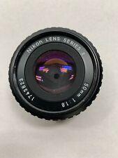 Nikon Nikkor 50mm Series E f1.8 Pancake Lens