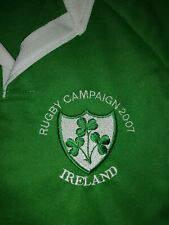IRELAND IRISH WORLD CUP 2007 RUGBY STYLE SHIRT NEW SIZE M LIMITED EDITION  !!