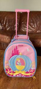 Samsonite Mini Suitcase For Children Cinderella Wheel Suitcase