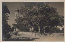 Germany Postcard - Oberammergau - Ettaler Strasse  T10222