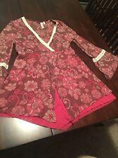 Sweet Pea Peasant Shirt Dolman Sleeves Medium