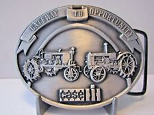 Case IH Farmall McCormick Tractor 1987 Parts Trade Fair Belt Buckle Ltd Ed 1126