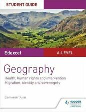 Edexcel A-level Geography Student Guide 5: Health, human rights... 9781510448025