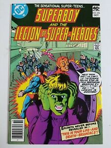 Superboy (1949) #256 - Very Fine/Near Mint - Legion of Super-Heroes