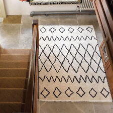 Berber Geometric 100% Wool Rugs