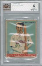 1933 Goudey JIM BOTTOMLEY # 44 (BVG 4 VG-EX) MLB Hall of Fame (163