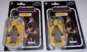 Star Wars 3.75 Vintage OFFWORLD JAWA Arvala-7 VC203 Mandalorian Dmgd Pkg