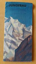 altes Reise Prospekt Jungfrau, Die Jungfrautour, Schweiz, um 1932