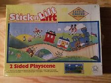 RARE NEW SEALED VINTAGE STICK N LIFT THE LITTLE ENGINE THAT COULD PLAY SET HTF!