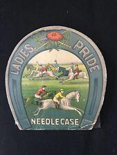 Vintage Needle Book Set of Two. Ladies Pride & Lucky