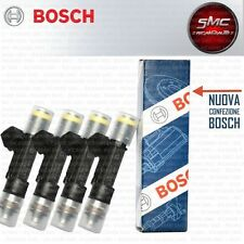 0280158827 INIETTORI 4 PEZZI FIAT MULTIPLA Doblo 1.6 BIPOWER NATURAL POWER BOSCH