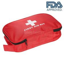 Carevas180PCS Water-Proof First Aid Kit Medical Emergency Bag Case FDA Y7Z6