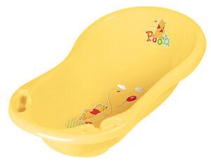 Disney Baby Badewanne gelb WINNIE POOH + ABFLUß