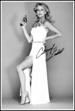 Cheryl Ladd, Autografiado, Imagen de Lona de algodón. edición Limitada (CL-201)