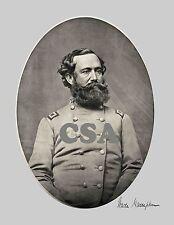 Lt. Gen. Wade Hampton in Confederate Uniform with his Signature • Signed