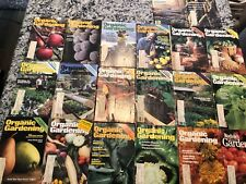 20 lot vintage ORGANIC GARDENING Miscellaneous Magazines 1980-1986