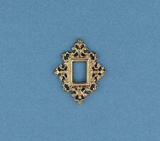 Dollhouse Accessories  Miniature Mirror  Goldtone NEW IDM4275