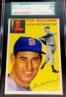 1954 Topps Ted Williams #250 SGC 88 (PSA 8 equivilant) NM-MINT LOOKS MINT!