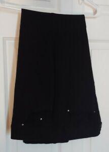 Womens 89th + Madison Black Pants Size 16