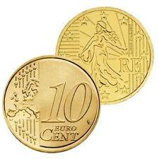 Pièces euro Année 2001 10 Cent