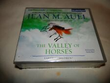 The Valley of Horses by Jean M Auel read by Sandra Burr Unabridged CD F/S