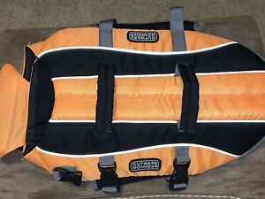 Outward Hound DOG LIFE JACKET Saver Preserver Safety Vest ORANGE Small (3A2)