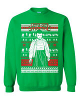 Let's Get Strange Ugly Christmas Sweater. Funny Stranger Things El sweatshirt