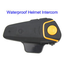 Waterproof Motorcycle Helmet Intercom BT-S2 Moto Bluetooth Interphone Headset FM