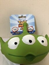 Hyper Pet Disney Toy Story 4 Interactive Super Squeaker Dog Toy Alien