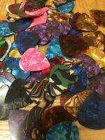 GUITAR PICKS JOB LOT X 12 FOR ELECTRIC,ACOUSTIC AND BASS.Cheapest Uk P&P!