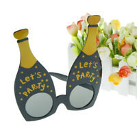 let's party champagne bottle party glasses photobooth props costume accessories.