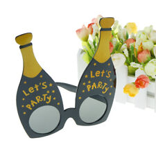 let's party champagne bottle party glasses photobooth props costume accessories