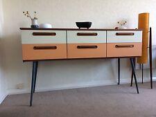 1960s Teak Schreiber Sideboard & Drawers Cabinet Vintage Midcentury Retro