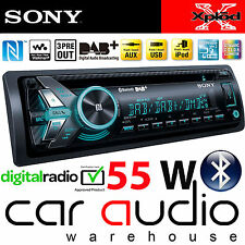 SONY MEX-N6001BD 55x4 Watts DAB Radio Bluetooth CD MP3 USB AUX Car Stereo Player