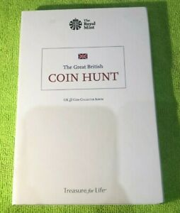 Royal Mint UK Great British Coin Hunt £2 Pound Collectors Album - 39 coin spaces