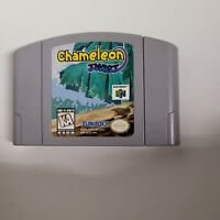 Chameleon Twist Nintendo 64 N64 Genuine Authentic Sunsoft Cartridge Only