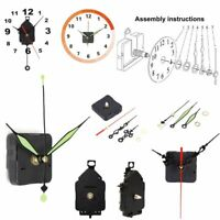 Pendulum Parts + Hands Clock Movement Mechanism Repair Replacement