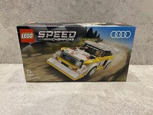 Lego 76897 Speed Champions Audi Sport Quattro S1 Racer Toy BRAND NEW