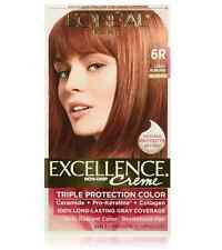L'Oreal Excellence Creme - 6R Light Auburn (Warmer) 1 Each (Pack of 7)