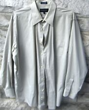 Giorgio Brutini Men's long sleeve dress shirt size XL 17 1/2 34/35 FREE SHIPPING