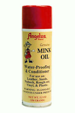 Angelus Genuine Mink Oil Waterproof Leather Conditioner Boots Shoes 5.5oz