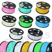 3D Printer Filament Glow In Dark & Special Colors 1.75mm 3mm ABS/PLA 1kg/2.2lb