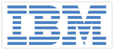 IBM International Busines Machines eticheta sticker 15cm x 6cm