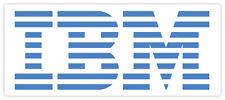 IBM International Busines Machines eticheta sticker 15cm x 6cm
